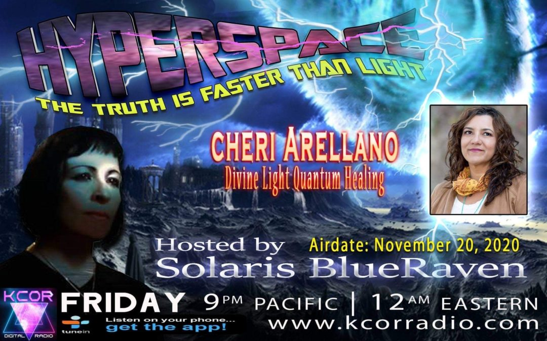 Hyperspace: Solaris Blueraven Interviews Cheri on KCOR Radio